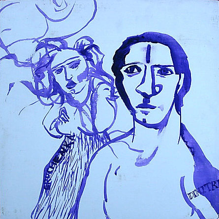 Grushenka and Dimitri
